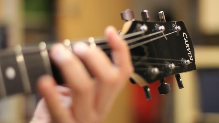 Carvin Guitar Headstock