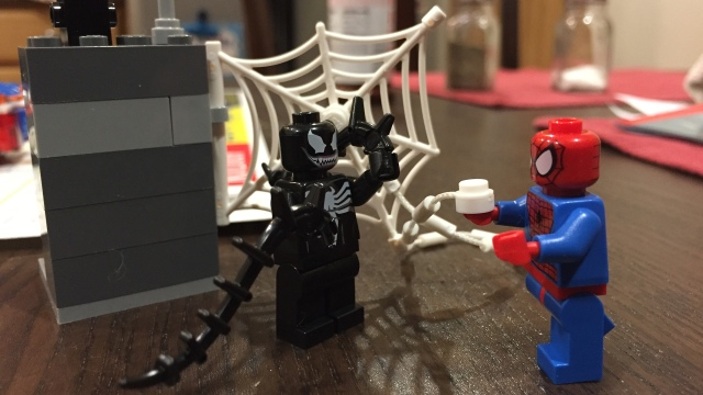 Lego Spider-Man and Venom